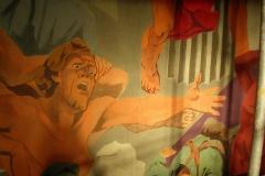 Bellechasse - Restauration de la fresque
