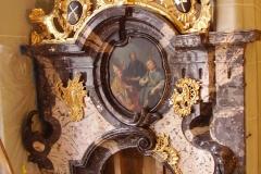 partie supérieure de l'autel
