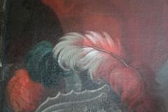 détail nettoyage surface peinte